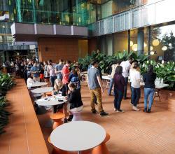 Atrium catering space